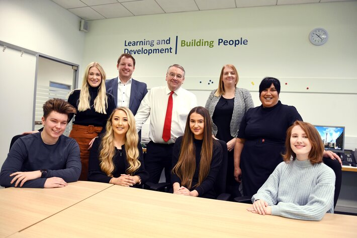 Newcastle Building Society and Learning Curve Group